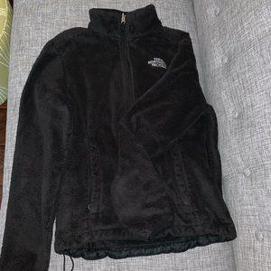 Black North Face Zip-Up Jacket